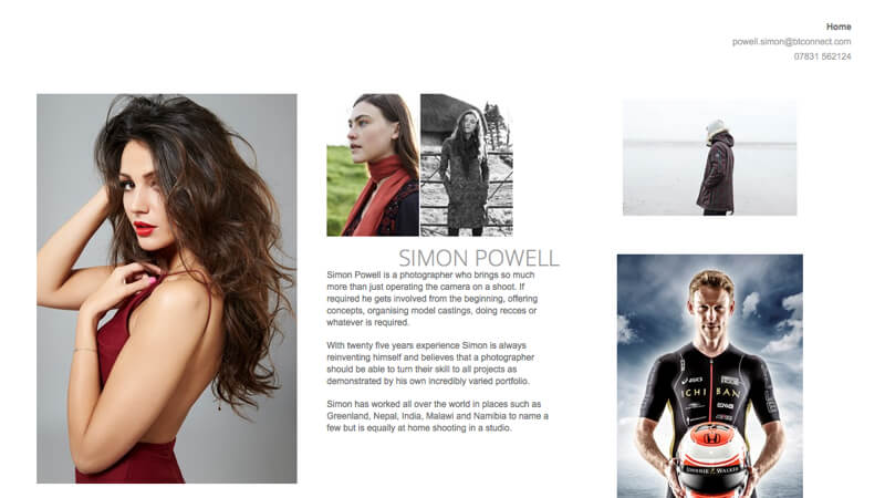 portfolio Simon Powell