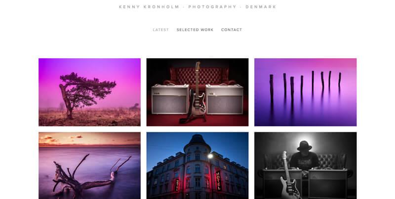 portfolio Kenny Kronholm