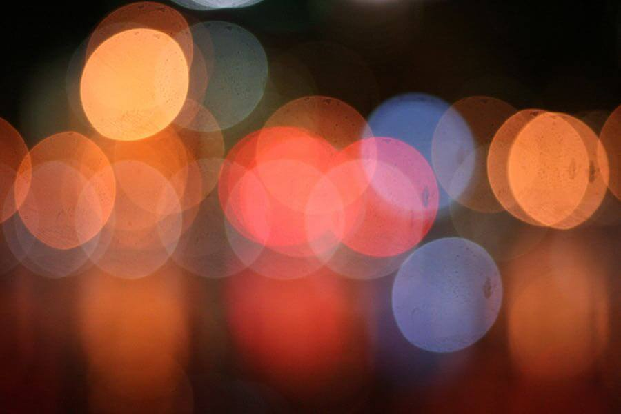 Ginny - city lights bokeh