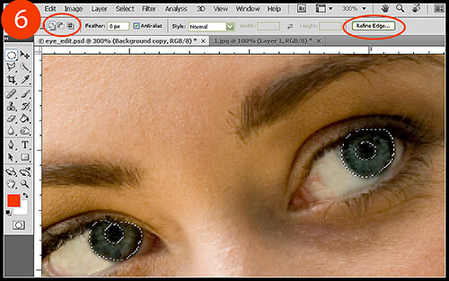 Eye Editing in Photoshop