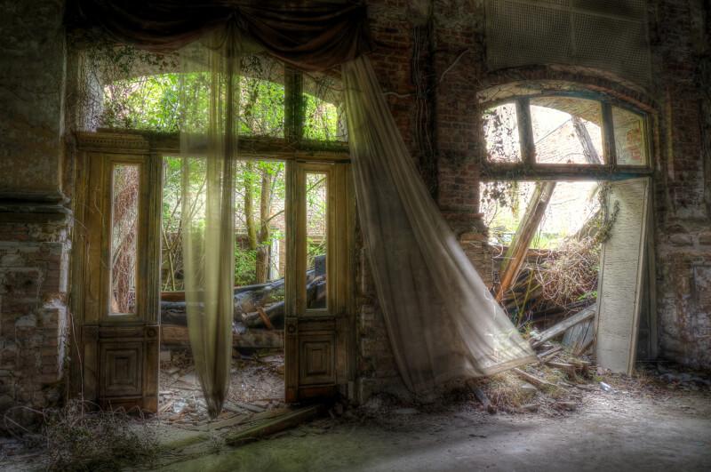 urban decay abandoned ballroom