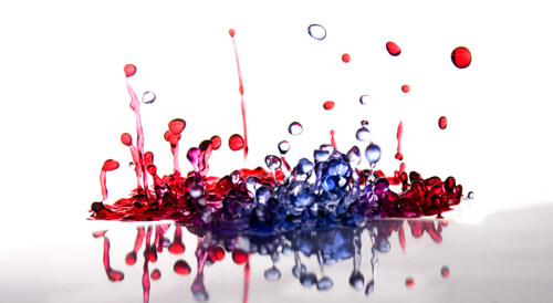 High Speed Drop Photography