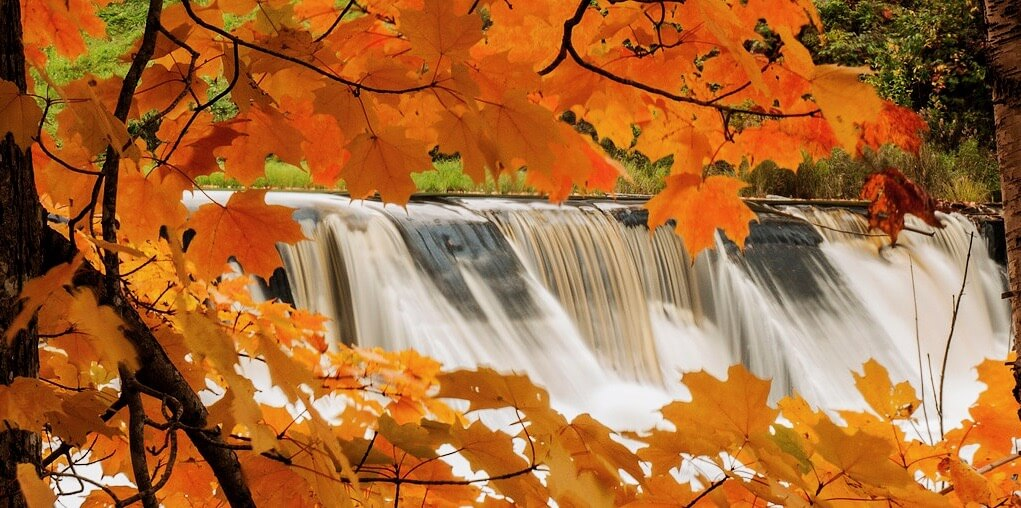 Keith Doucet - Autumn at Nictaux Falls
