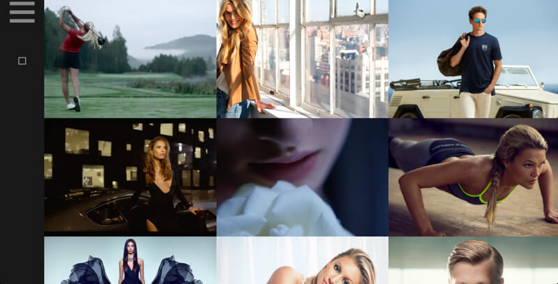 Photography portfolio website Joon Brandt