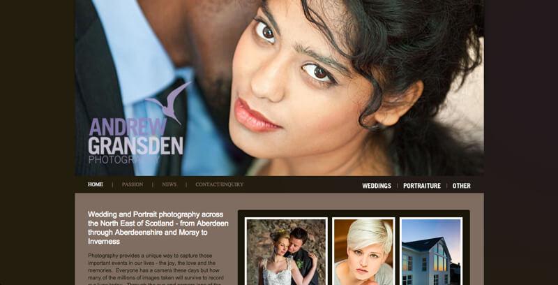Photographer portfolio andrew gransden