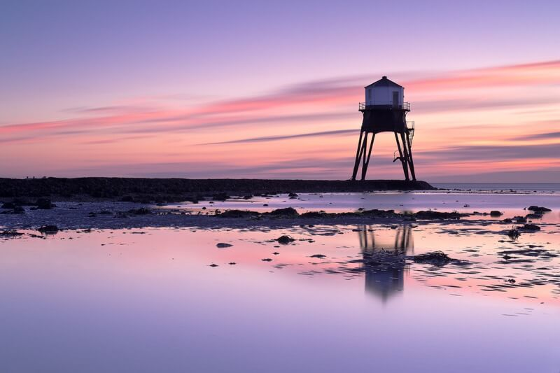 Andrew Stawarz - Sunrise Over Dovercourt Low Light