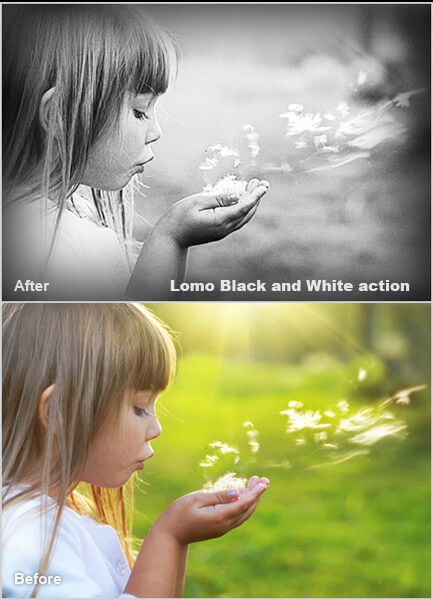 Lomo Photoshop Actions
