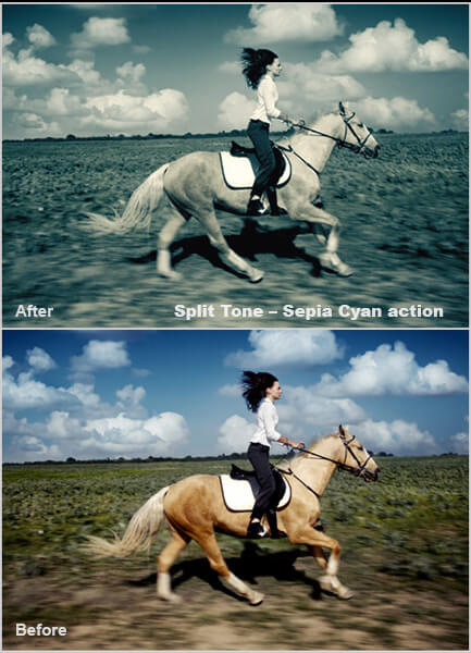 Tone Photoshop Actions