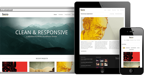 Hero WordPress Theme -
