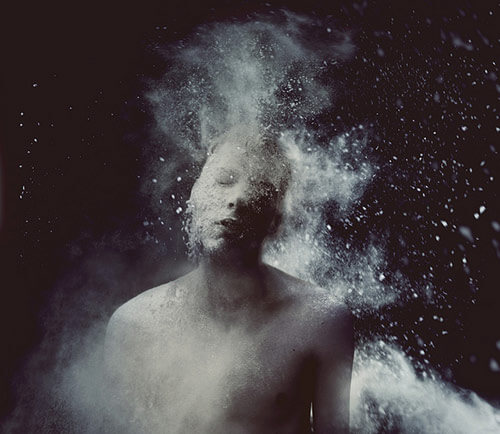 Surreal Self Portraits by Kyle Thompson
