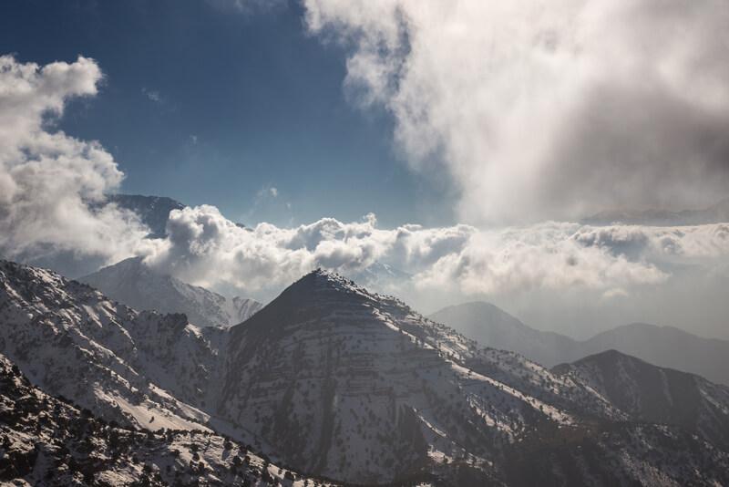 Oukaimeden mountains