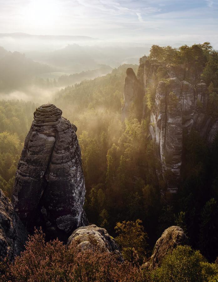 mountains saxony