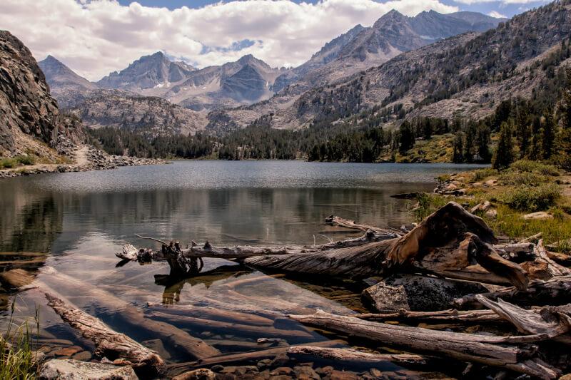 mountains Long Lake, California
