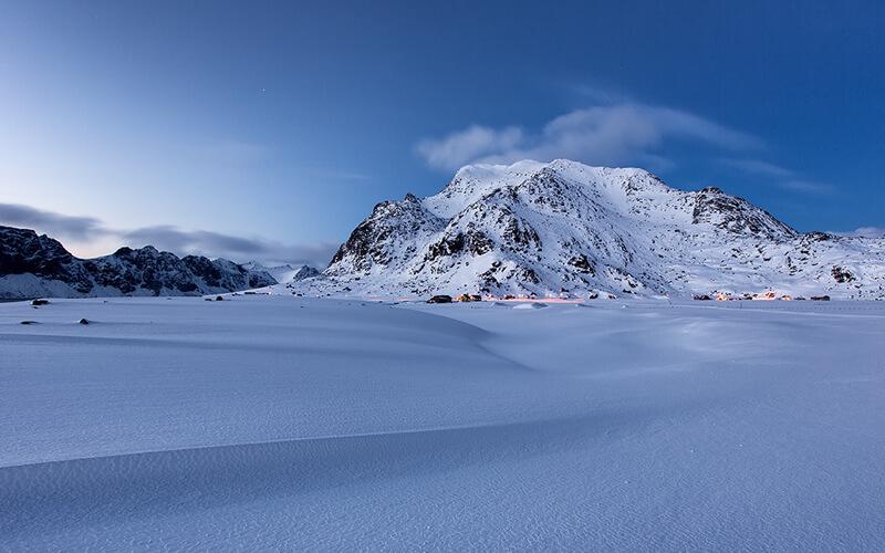mountains lofoten Norway