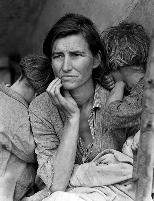 Migrant Mother by Dorothea_Lange