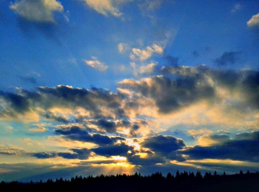 Derek Finch - Sunset Beams
