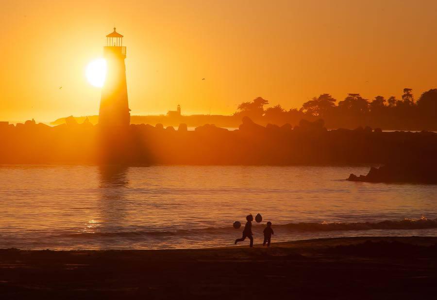 Anita Ritenour - Santa Cruz Sunset