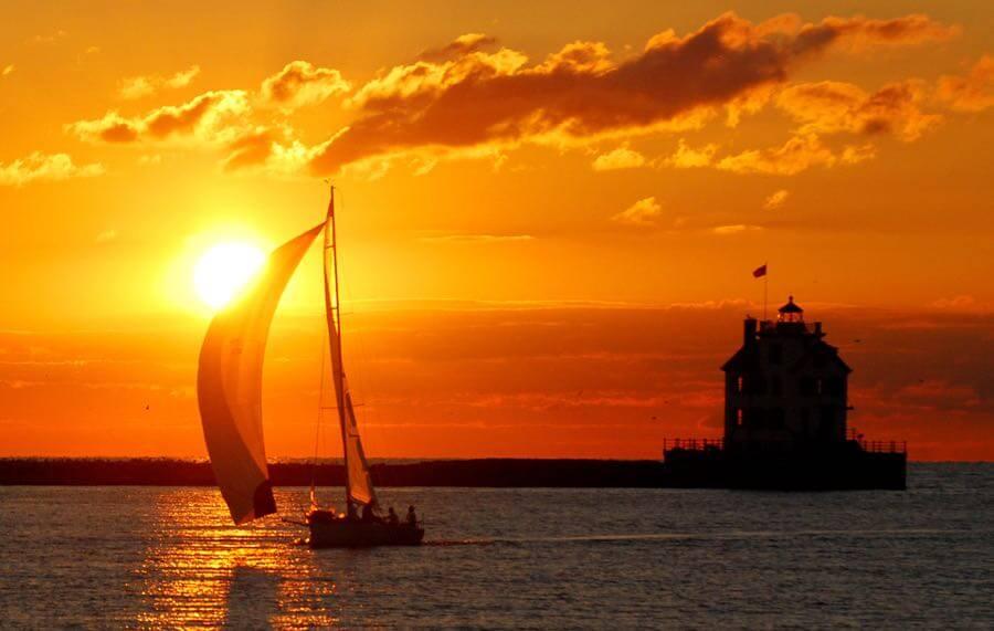 Rona Proudfoot - Lorain sunset