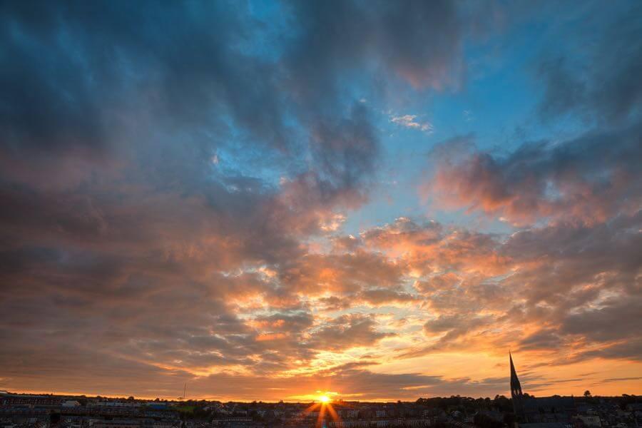 Nicolas Raymond - Derry Sunset - HDR