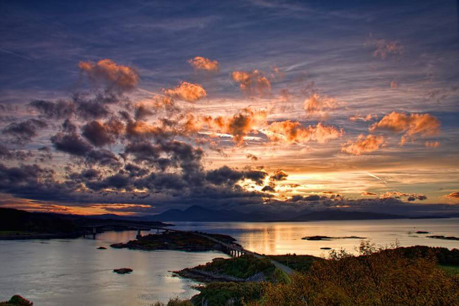 Oliver Clarke - Loch Alsh Sunset
