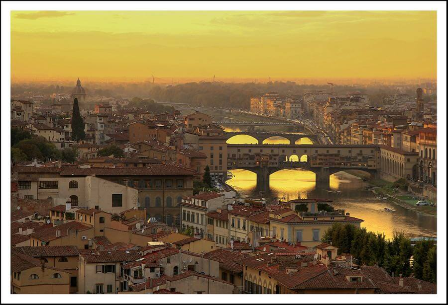 Steve - Sunset over Florence