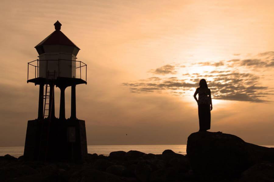Jarle Refsnes - Sunset April