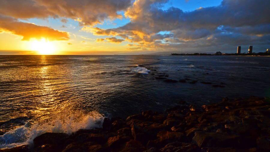 Edmund Garman - Magic Island Sunset
