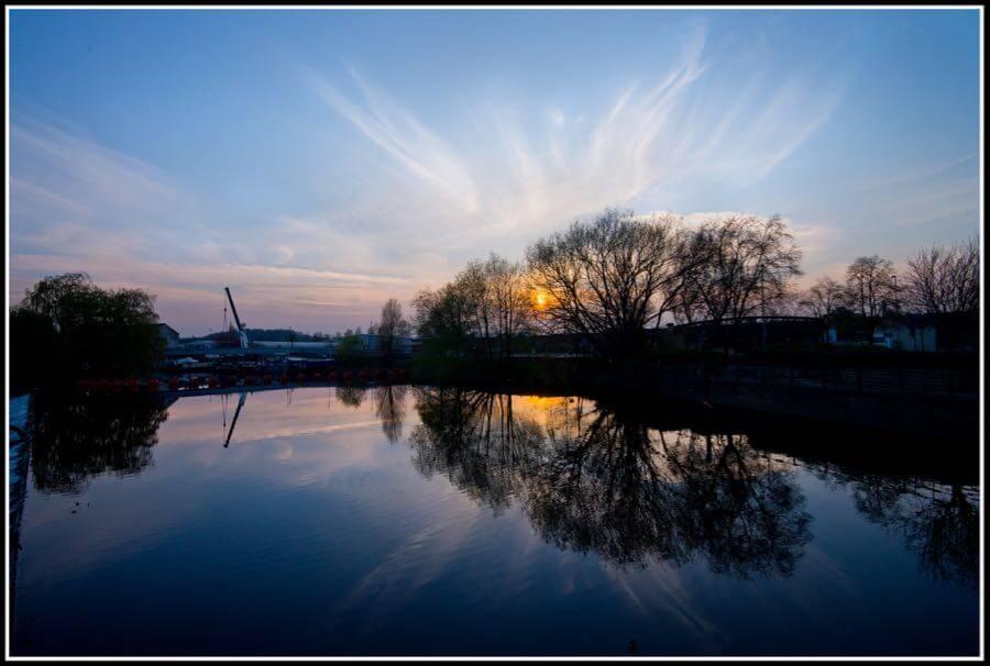 Stephen Bowler - Hepworth sunset