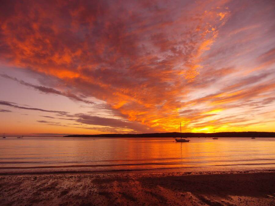 Eric Harrison - Sunset from Niles Beach