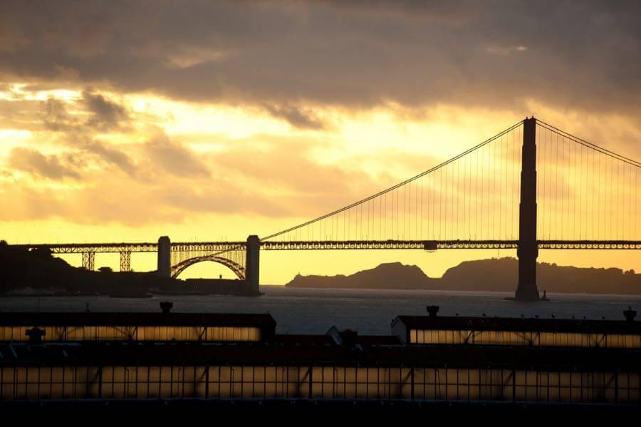 Kenny Louie - Golden Gate Sunset