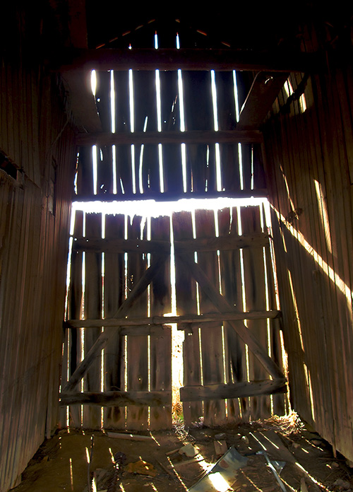 Barn-interior