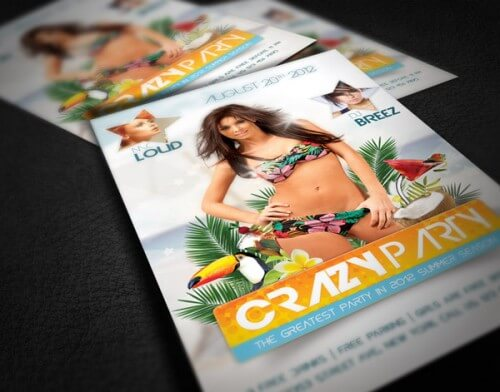 Create an Amazing Summer Flyer Design