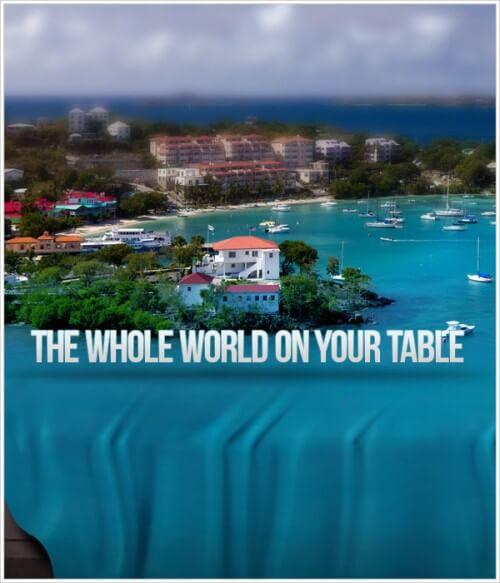 """Amazing Photo Manipulation """"World on the Tissue"""" in Photoshop"""