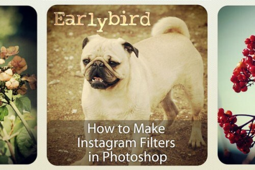 How to Make Instagram Filters in Photoshop: Earlybird