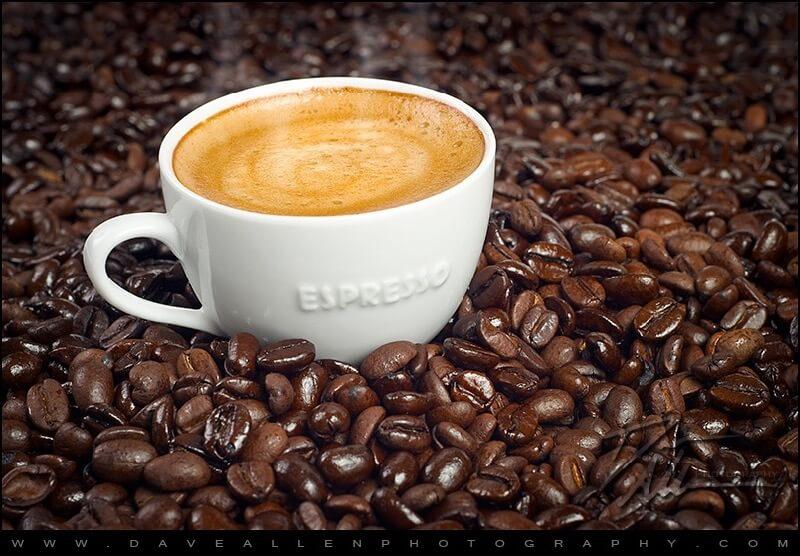 Dave Allen Photography - Steaming Hot Fresh Espresso, mmm...
