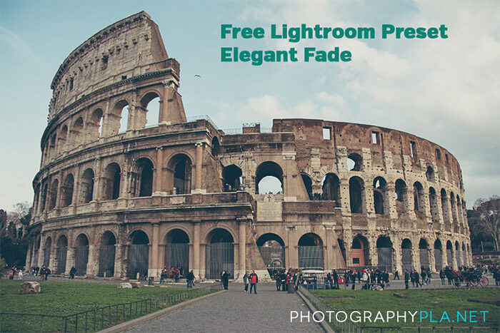 Elegant Fade Lightroom Preset