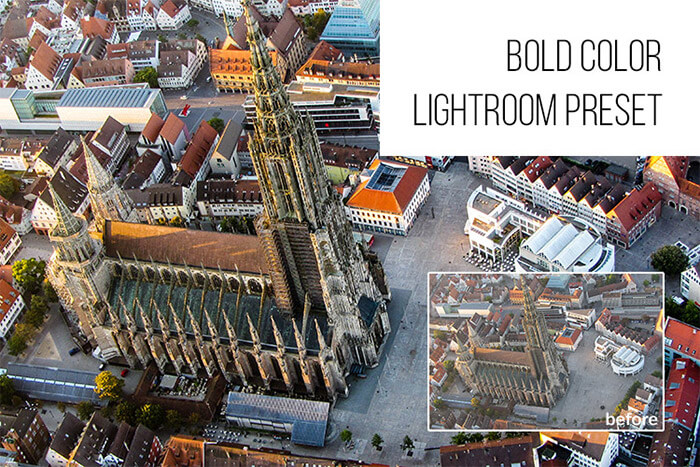 Bold Color Lightroom Preset