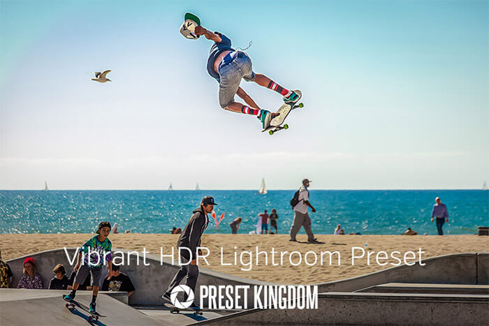 Vibrant Colors HDR Lightroom Preset