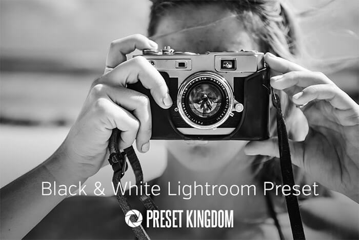 High Contrast B&W Lightroom Preset