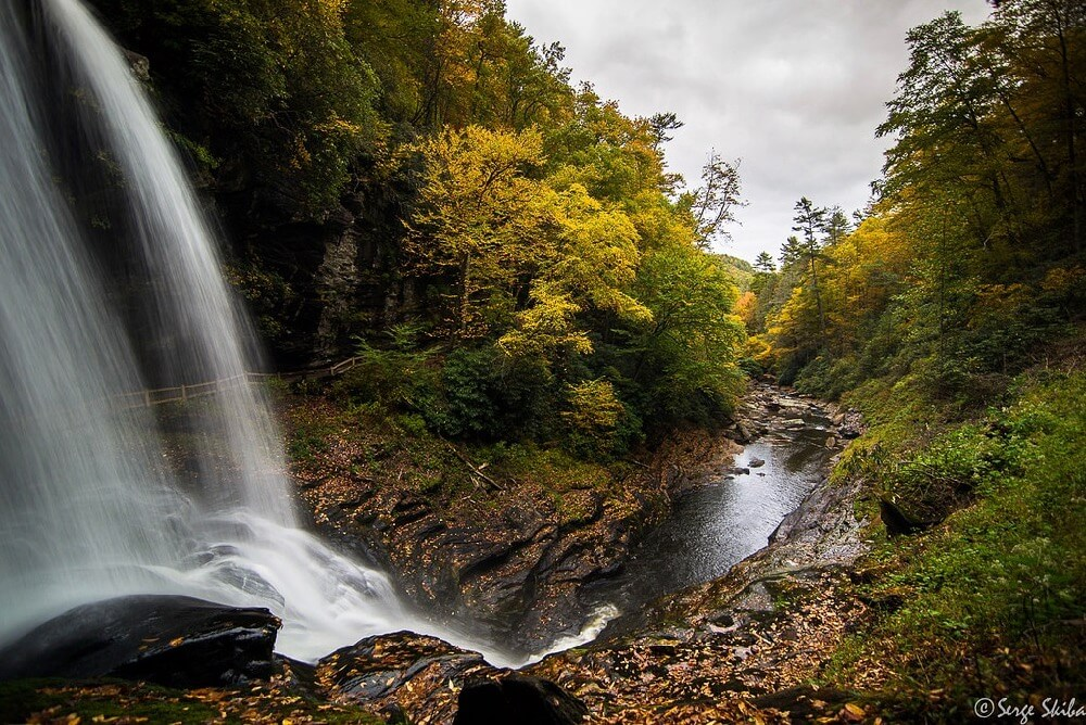 Serge Skiba - Dry Falls, Highlands, North Carolina