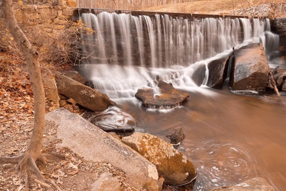 Nicolas Raymond - Rustic Rock Run Falls