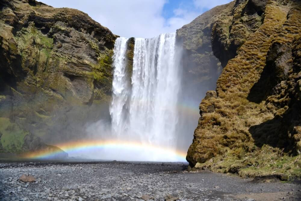 Kate Elizabeth - Waterfall in Iceland