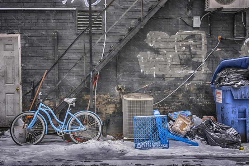 still life photography urban scene