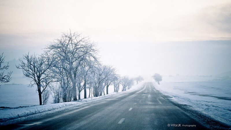 Vitor Junqueira - Magic Roads at Winter - Starojická Lhota, Czech Republic
