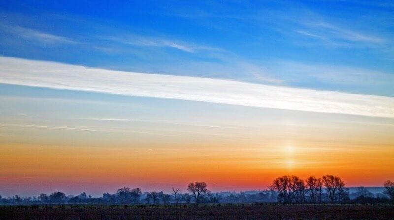 Robert Felton - Cardington Sunrise Sky