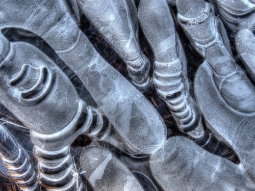 Abstract Ice Photography 10