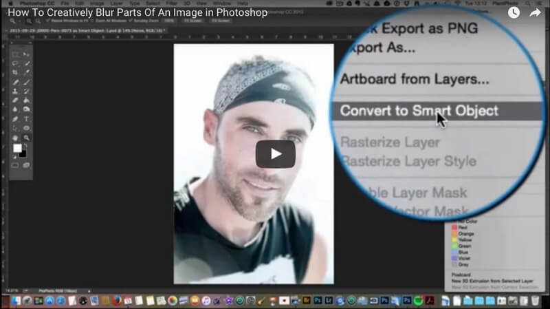 Photoshop Tutorial Blur