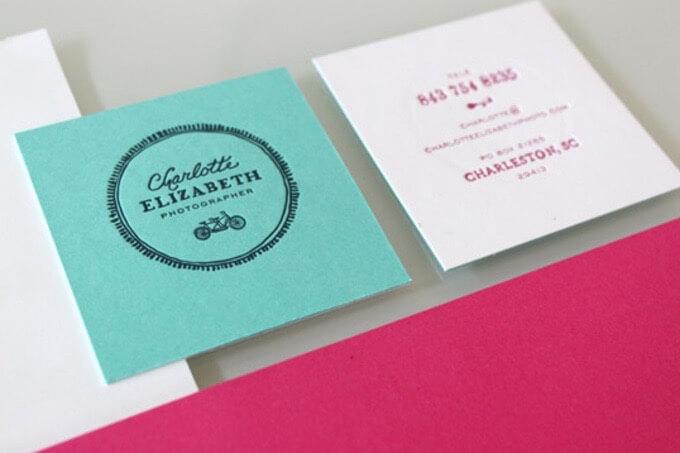 Charlotte Elizabeth Photographer Business Card