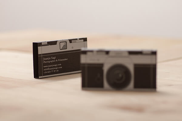 Juanjo Sagi Photographer Business Card