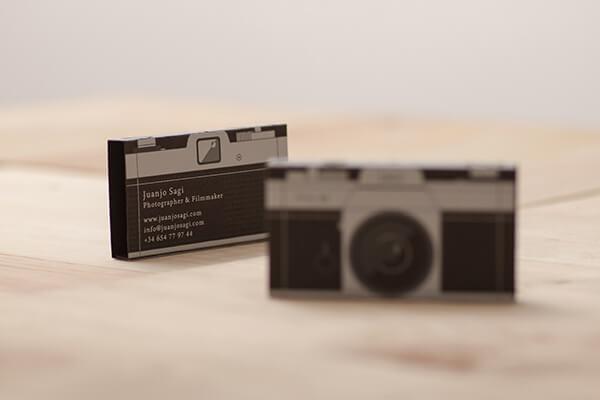 Juanjo Sagi Photographer Business Card